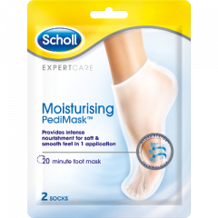 Scholl Pedi kosteuttava jalkanaamio 2 sukkaa