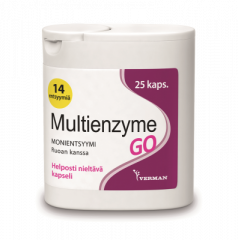 MULTIENZYME GO 25 KAPS