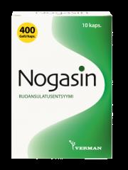 NOGASIN 400 GaIU KAPS 10 KPL