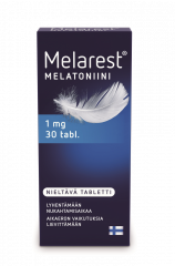 MELAREST MELATONIINI NIELTÄVÄ 1 MG X30 TABL