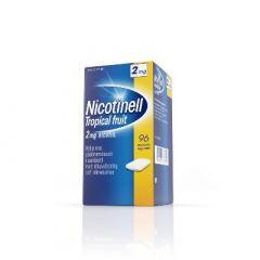 NICOTINELL TROPICAL FRUIT 2 mg lääkepurukumi 96 fol