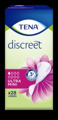 TENA DISCREET ULTRA MINI 28 KPL