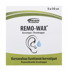 REMO-WAX KORVATIPAT X5X10 ML
