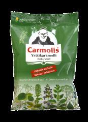 Carmolis Sokeriton Kurkkukaramelli 75 g