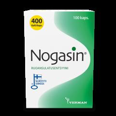 NOGASIN 400 GaIU KAPS 100 kpl