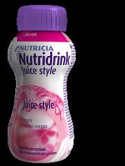 NUTRIDRINK Juice style mansikka 4x200 ml
