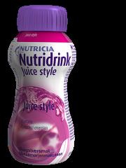 NUTRIDRINK Juice style metsämarja 48x200 ml