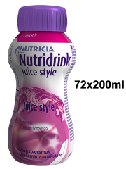 NUTRIDRINK Juice style metsämarja 72x200 ml