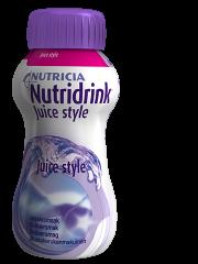 NUTRIDRINK Juice style mustaherukka 24x200 ml