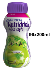NUTRIDRINK Juice style omena 96x200 ml