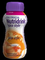 NUTRIDRINK Juice style appelsiini 48x200 ml