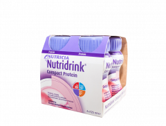 Nutridrink Compact Protein Mansikka 72x125 ml