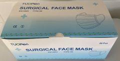 Kirurginen maski suu-nenäsuoja Type 2R 50kpl