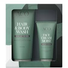 ACO MEN Body Wash & Face Cream 200+60 ml
