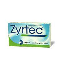 ZYRTEC 10 mg tabl, kalvopääll 30 fol